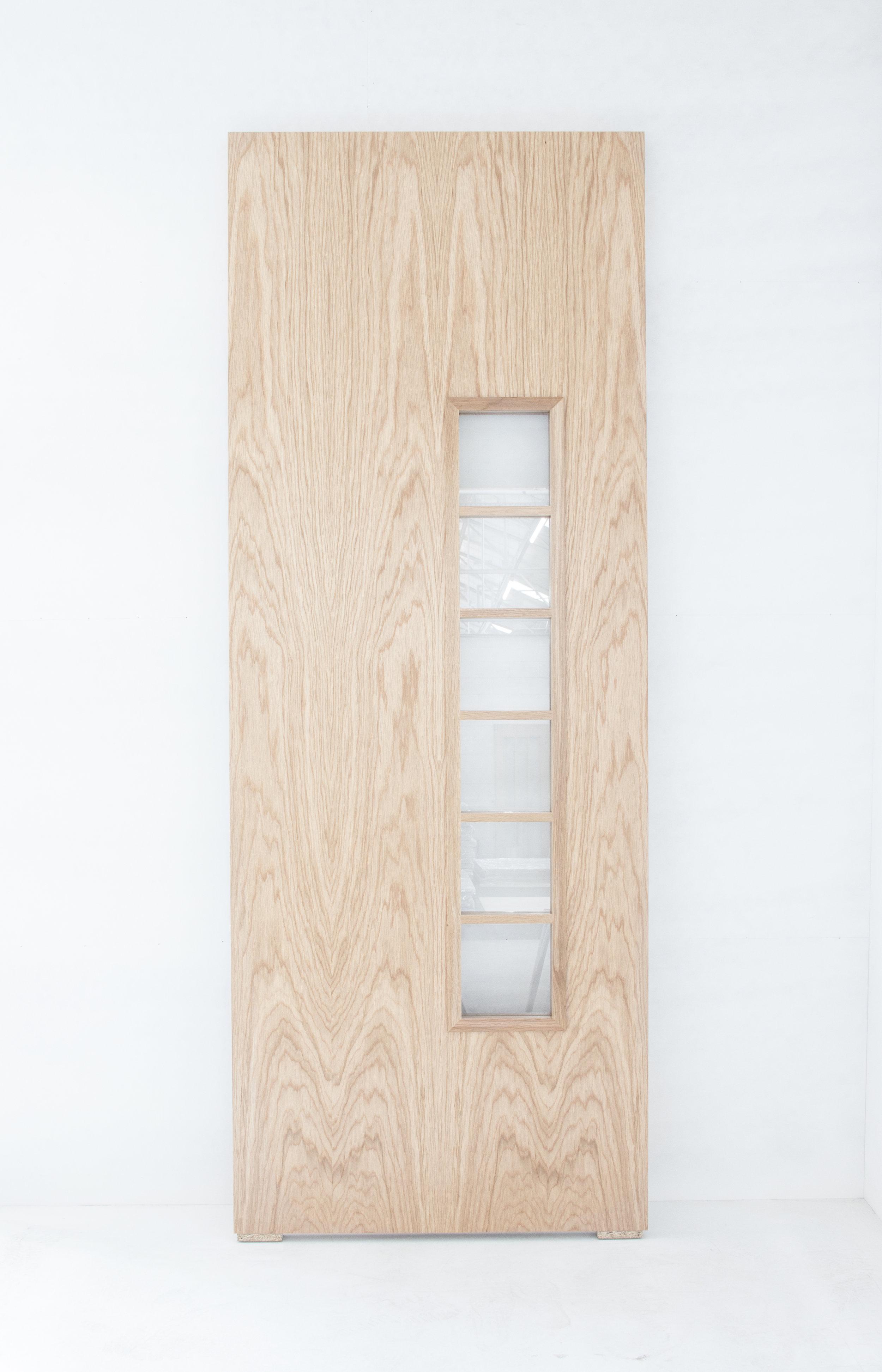 Oak Door With Ladder Beads