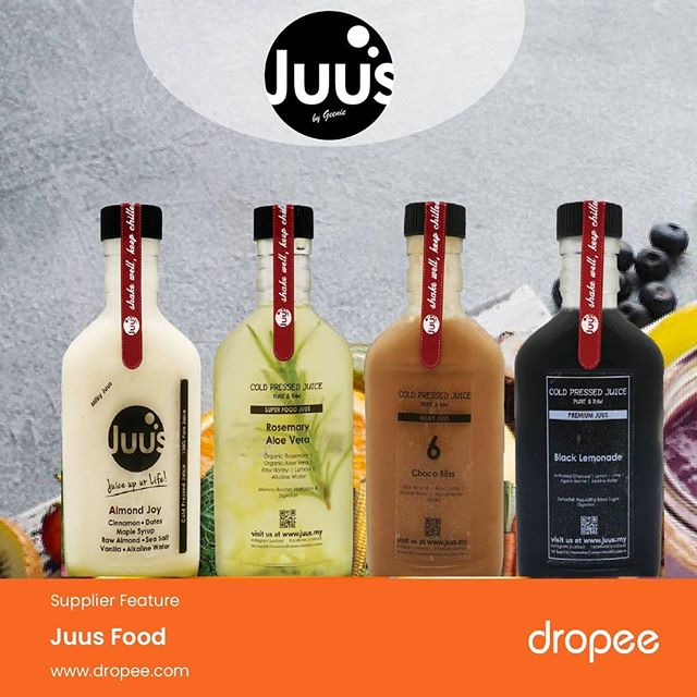 More and more consumers drink cold-pressed juice as a quick and easy way to add more fruits and vegetables into their diet. Unlike traditional juicing methods, the cold-pressed juicing process does not use heat or oxygen, ensuring that nutrients are thoroughly retained. . Our featured supplier of the day, Juus Juice, is one of the most popular cold-pressed juiceries in Malaysia. Their 100% pure fruit and vegetable juices are free from sugar and artificial ingredients. You can now buy Juus Juice cold-pressed juices at wholesale prices on Dropee.com! . Check out their official store - http://bit.ly/2M6LWVb  #coldpressedjuice #freshjuice #Dropee #JuusJuice  #juice #fruitjuice #nosugarjuice #premiumjuice #juicemalaysia #coldpressedjuice #juicesupplier #wholesalejuicemalaysia #fruitjuicesupplier #drinksmalaysia #beveragesupplierMalaysia #beveragesuppliesmalaysia #juicesuppliesmalaysia #foodandbeverages #wholesalemalaysia #wholesale #B2BeCommerceMarketplace