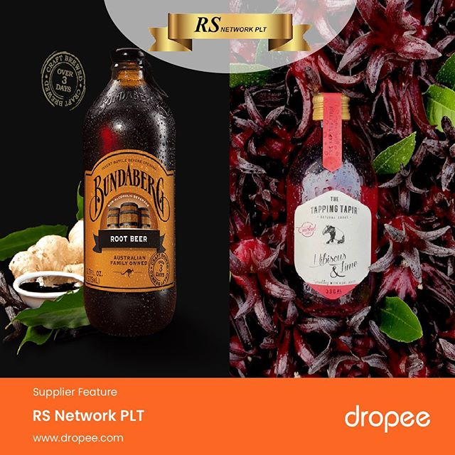 We have great news for business owners offering beverage products or any F&B outlet owners who are looking for Malaysian premium brews or imported brews and juices. . Introducing our featured supplier of the day, RS Network PLT offers premium quality sparkling drinks, brews from Malaysian brand and international brands. . Check-in Dropee.com to get supplies of crafted sparkling sodas made with real juices, ginger & root beers, and premium brews. . Get more good deals and wholesale prices when you visit their official store link - http://bit.ly/2Ko2GEX . #RSNetworkPLT #premiumbrew #sparklingsoda #newsupplier #Dropee #B2BeCommerceMarketplace #supplierannouncement #buyinbulks #wholesale