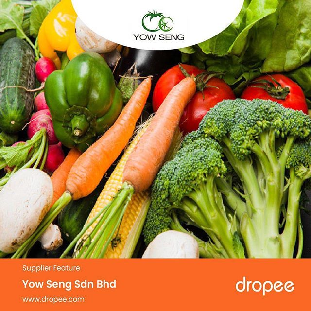 Yow Seng Sdn Bhd is our featured supplier of the day! One of the leading fresh vegetables and fruits suppliers in Malaysia, they supply over 220 agriculture products sourced from only sustainable farms. Now, that's a lot for you to choose from! . Appeal to your customers by supporting environmental sustainability through your fresh supplies. Get these supplies at wholesale only on Dropee.com! . Copy and search this link to check out their store and all products - http://bit.ly/2ZIGtHW . #YowSeng #supplier #announcement #fruitsandvegetables #veggies #Dropee #B2BeCommerceMarketplace #buyinbulk  #wholesale #onlinesupply