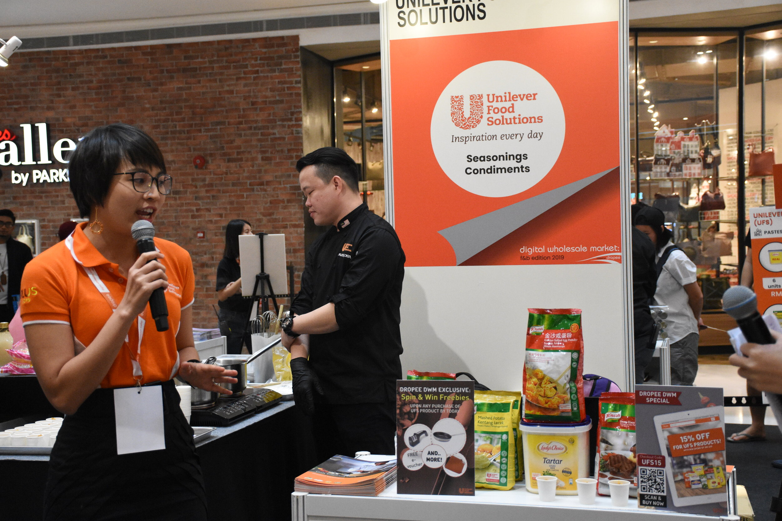 Unilever Food Solutions, one of the participating suppliers at Digital Wholesale Market: F&B Edition 2019.