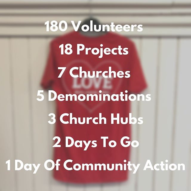 Not long to go before Love Balham! We're really excited to have so many amazing volunteers and to be working along side other churches in Balham this year!