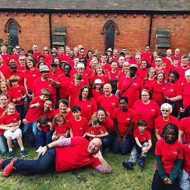 We've got so many volunteers we had to squeeze them all in for a photo! #lovebalham2019
