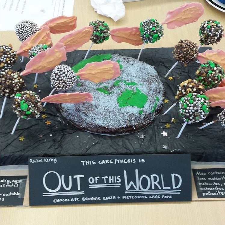 Out of this World by Rachel Kirby #ANURSES  #bakeyourPhD  on Instagram