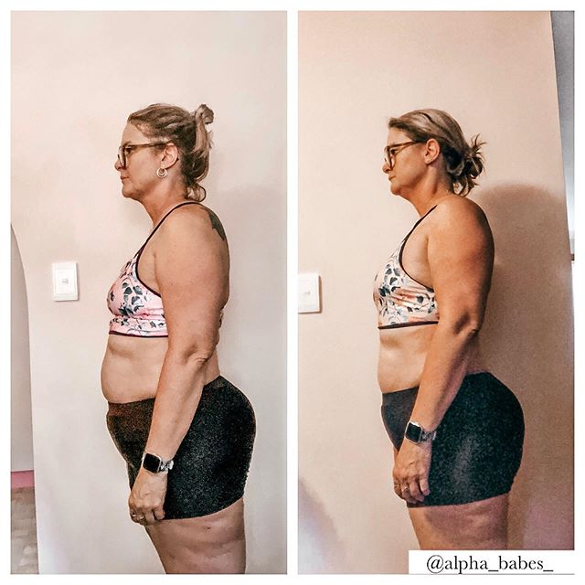 CLIENT PROGRESS ALERT 🚨 . . Check out @ketochelle_newme who has only been on our program for 2 weeks and this is her results already 😱 What an impressive start! . . We absolutely love working with this incredible woman who continues to show that anything is possible even at the young age of 51 🙌🏼 . . Our coaching books will be opening back up shortly. Sign up to our email list to be notified when spaces reopen xx #alphababes #weightloss #weightlosstransformation #fitnessmotivation