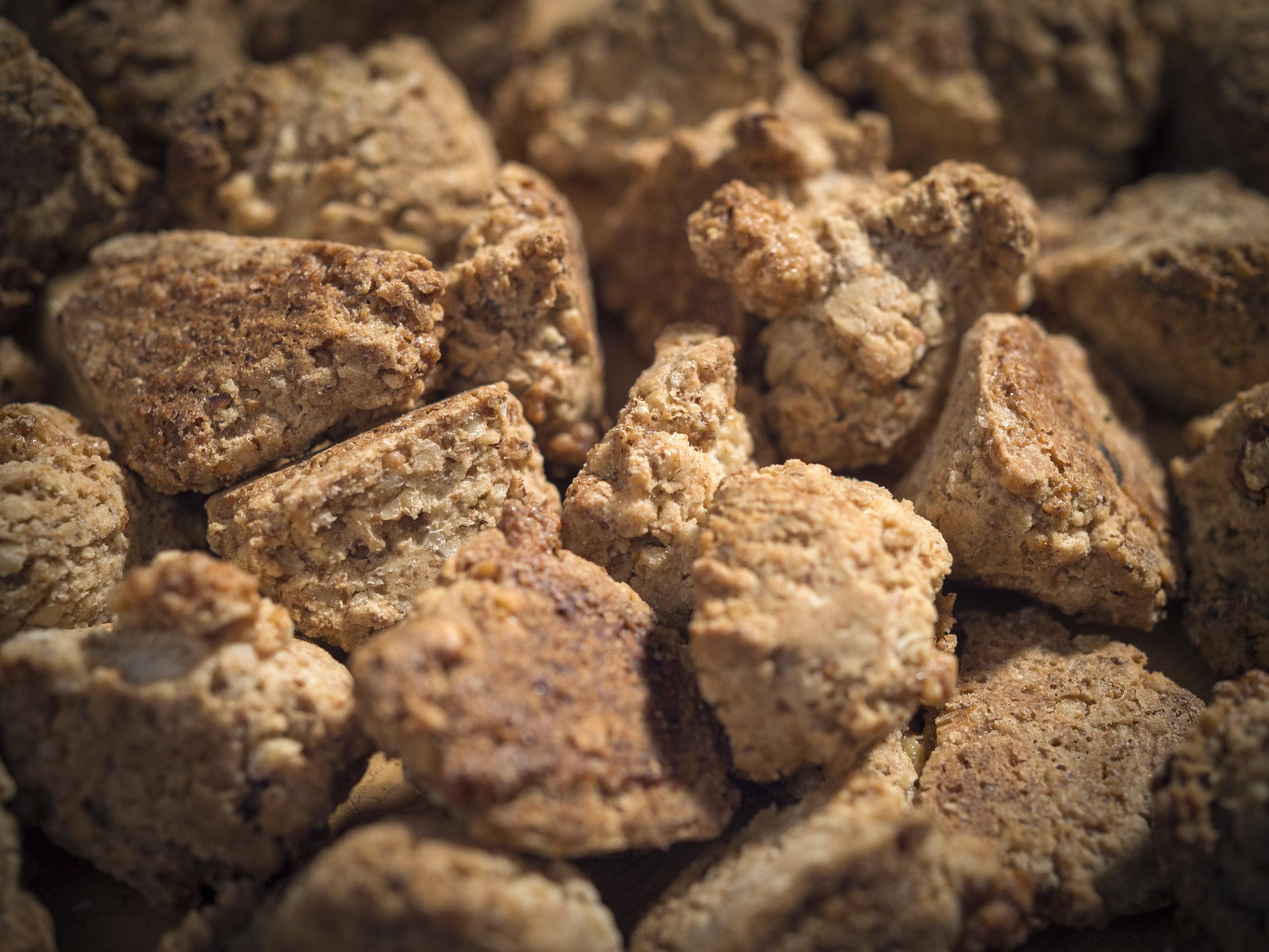 bouchees aux noix