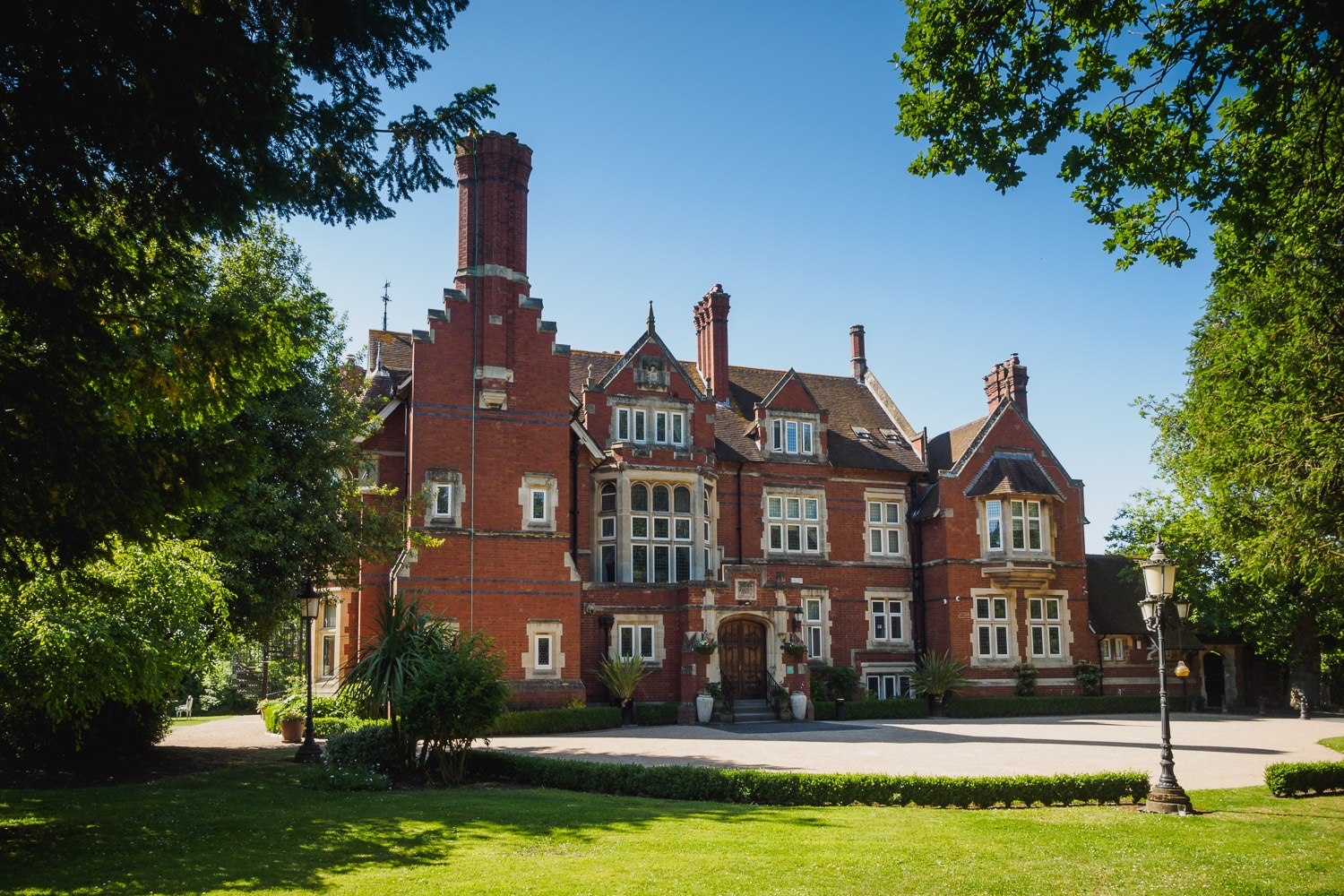 Photograph of Berwick Lodge which is a stunning wedding venue on the edge of Bristol