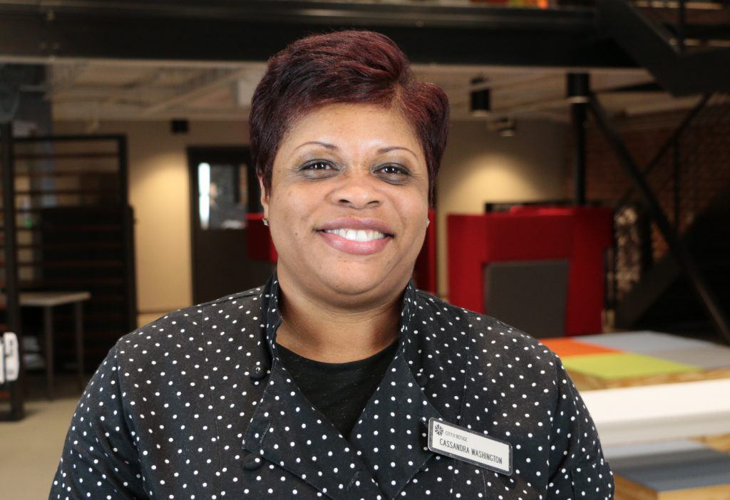 Cassandra Washington - Director of Food Services