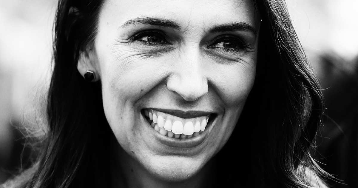 Jacinda Ardern, New Zealand PM. Christchurch massacre memorial.