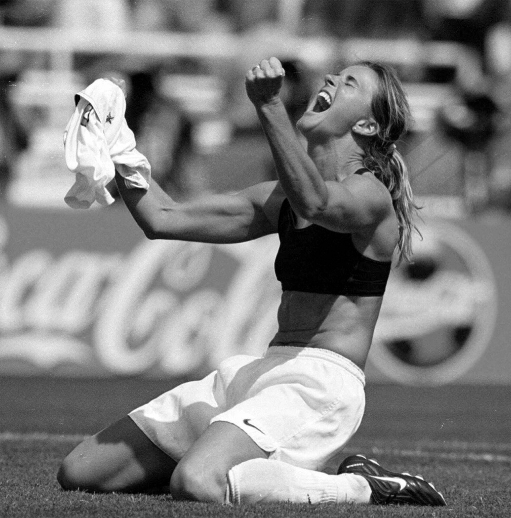 Brandi Chastain, Winner. 1999 World Cup.