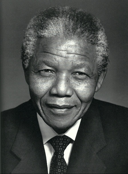 Nelson Mandela. Icon. Leadership