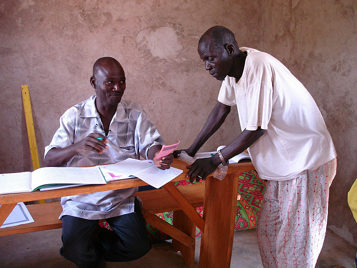 Bouba Traoré et Alabouri Guindo