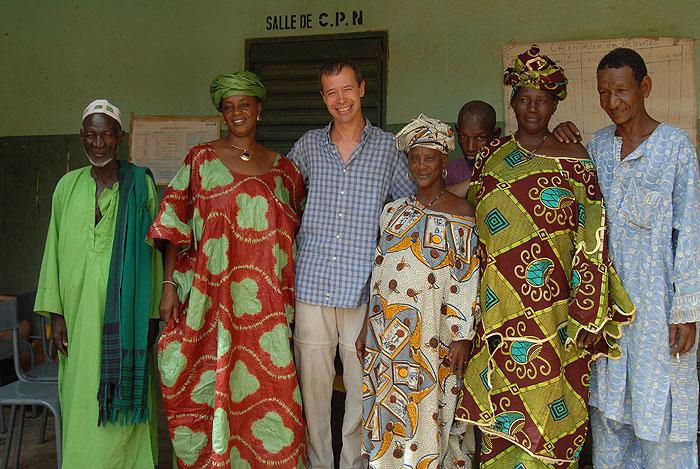 L'équipe du CSCOM de Boni