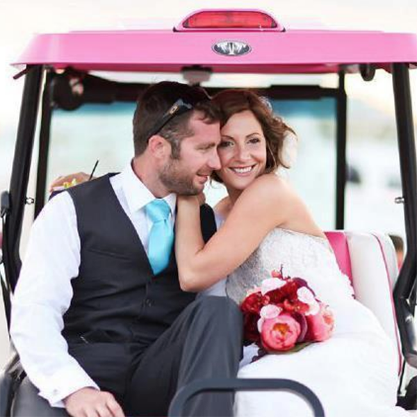 WEDDING RENTALS - Planning a wedding? Call us today about our exclusive fleet of 4 and 8 seat bridal party carts.