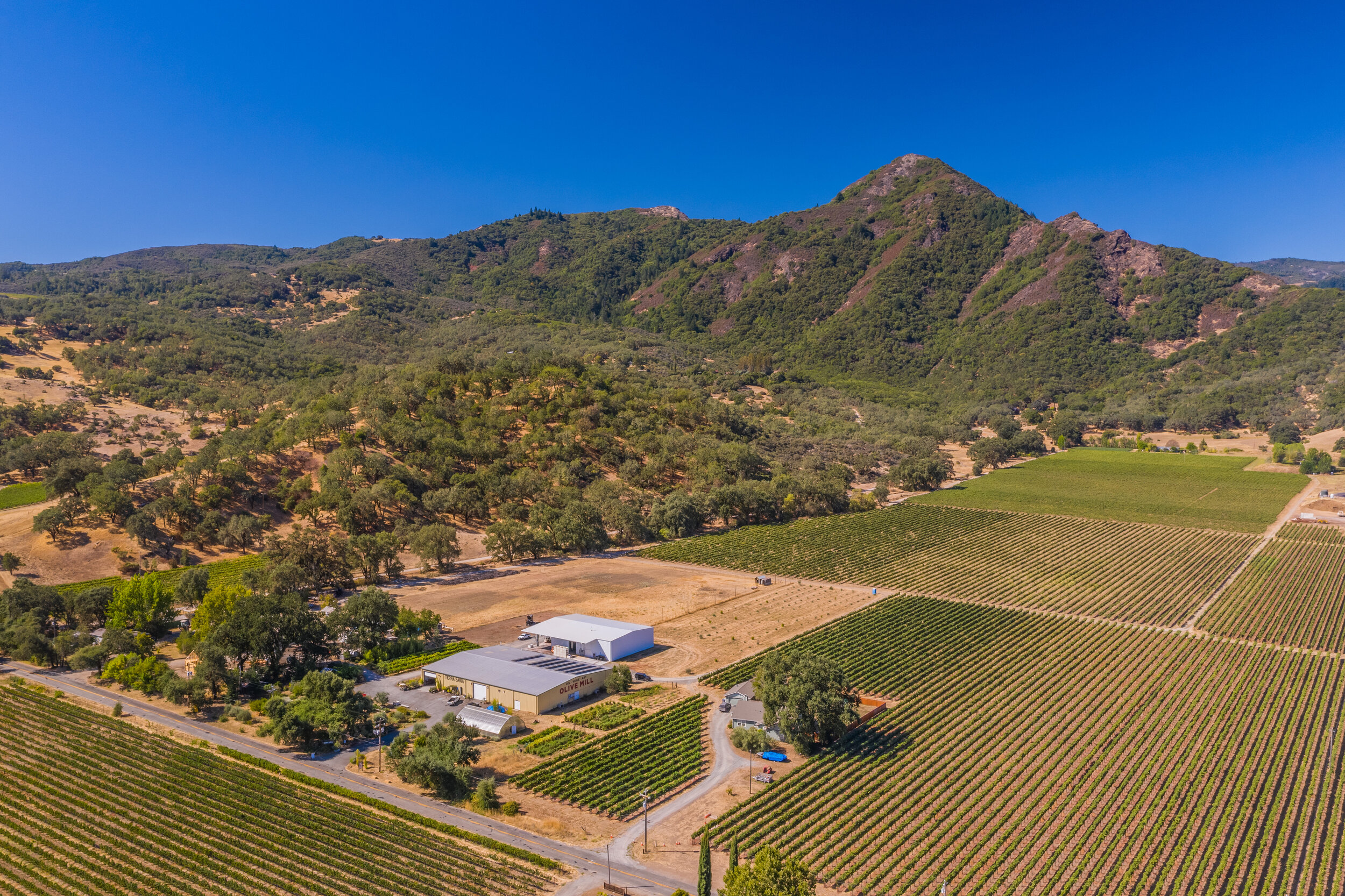 OUR 58-ACRE ESTATE AT THE FOOT OF DUNCAN PEAK