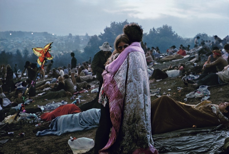 Burk Uzzle,  Woodstock Cover , 1969
