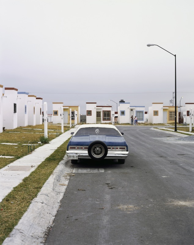 Old Car in Juarez Suburb, 2009