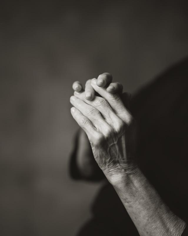 My Mother's Hands with Arthritis, 2015