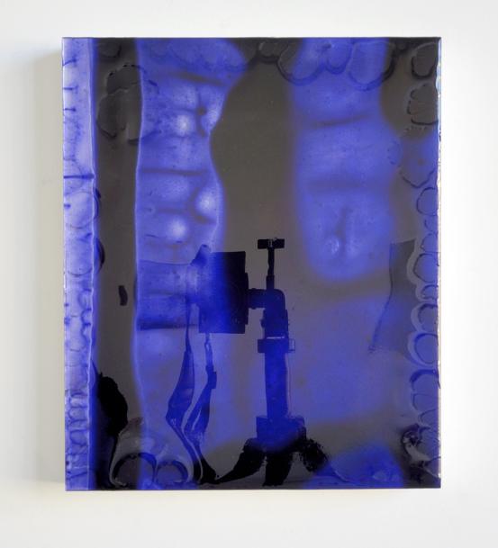 12 by 10 (deep blue) redux, 2011-2013