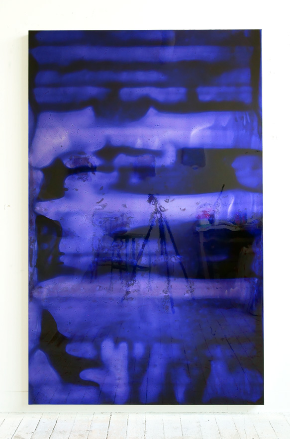 72 by 45 (deep blue), 2011