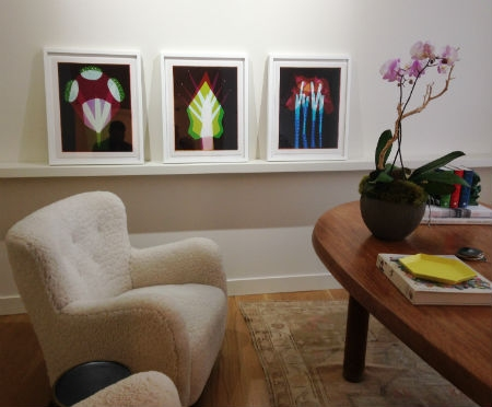Liz Nielsen's work on view at SOCO Gallery. Photo credit:  The Charlotte Observer