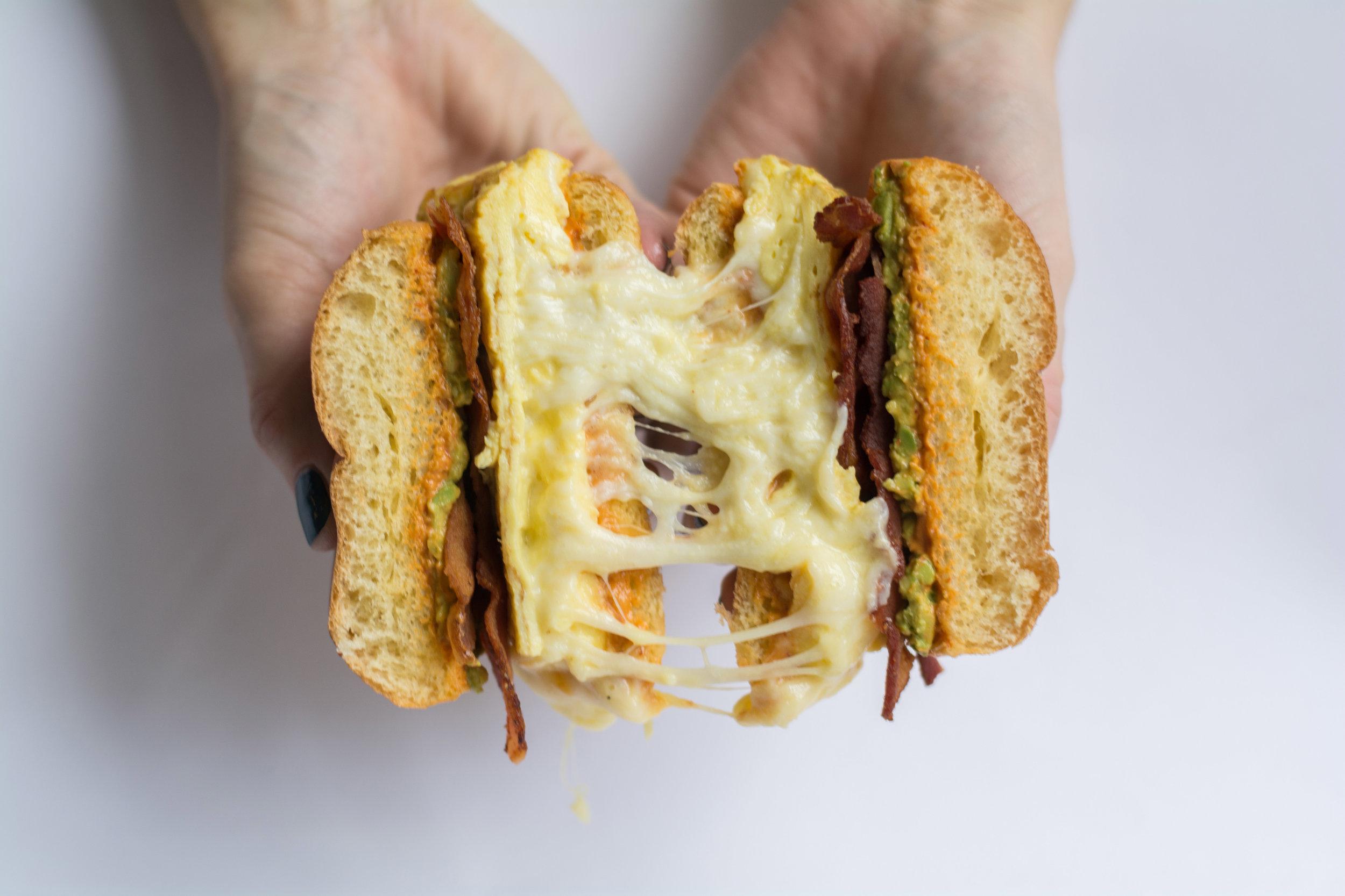 BAEsiC cheese pull