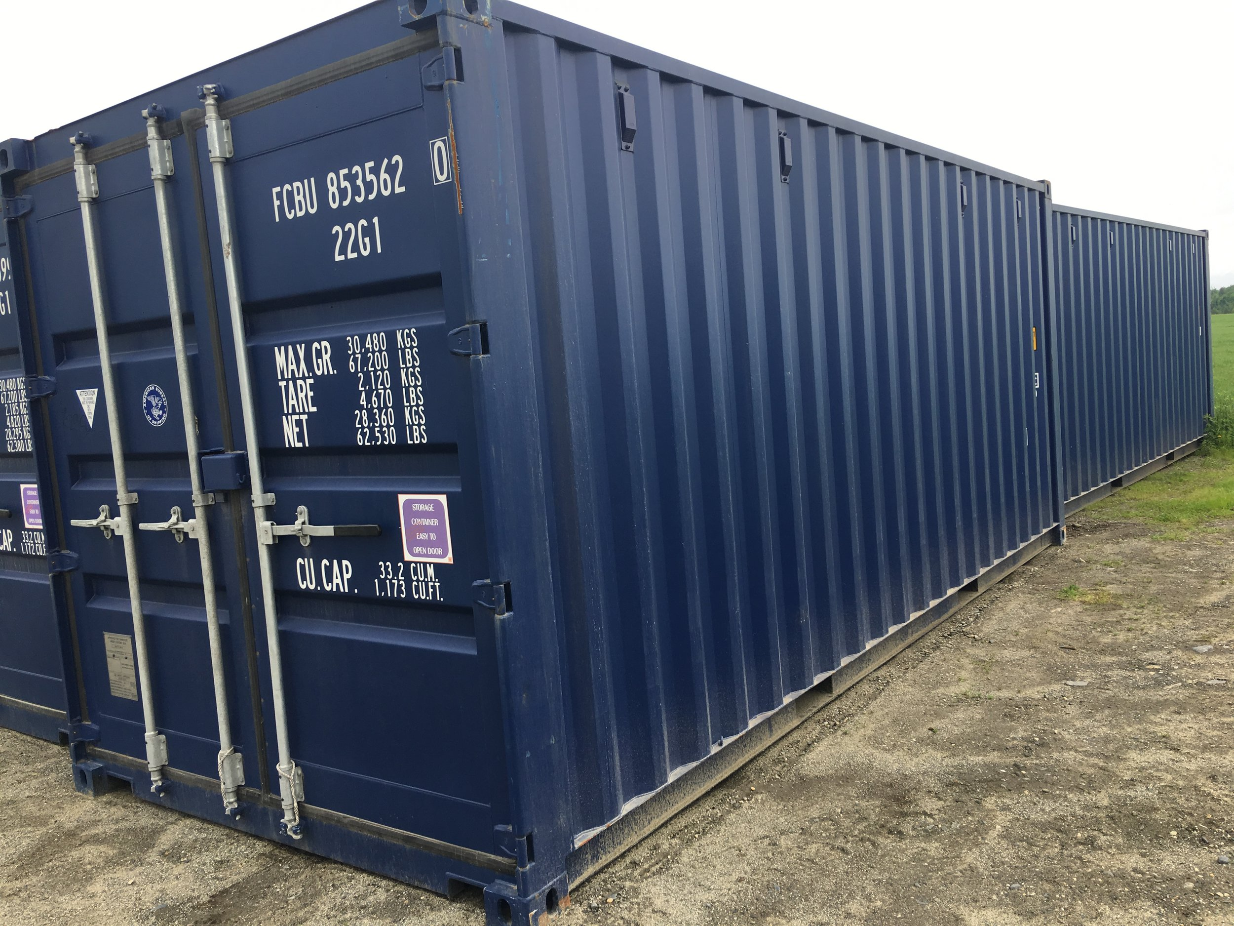 Storage Containers — Moe's Equipment