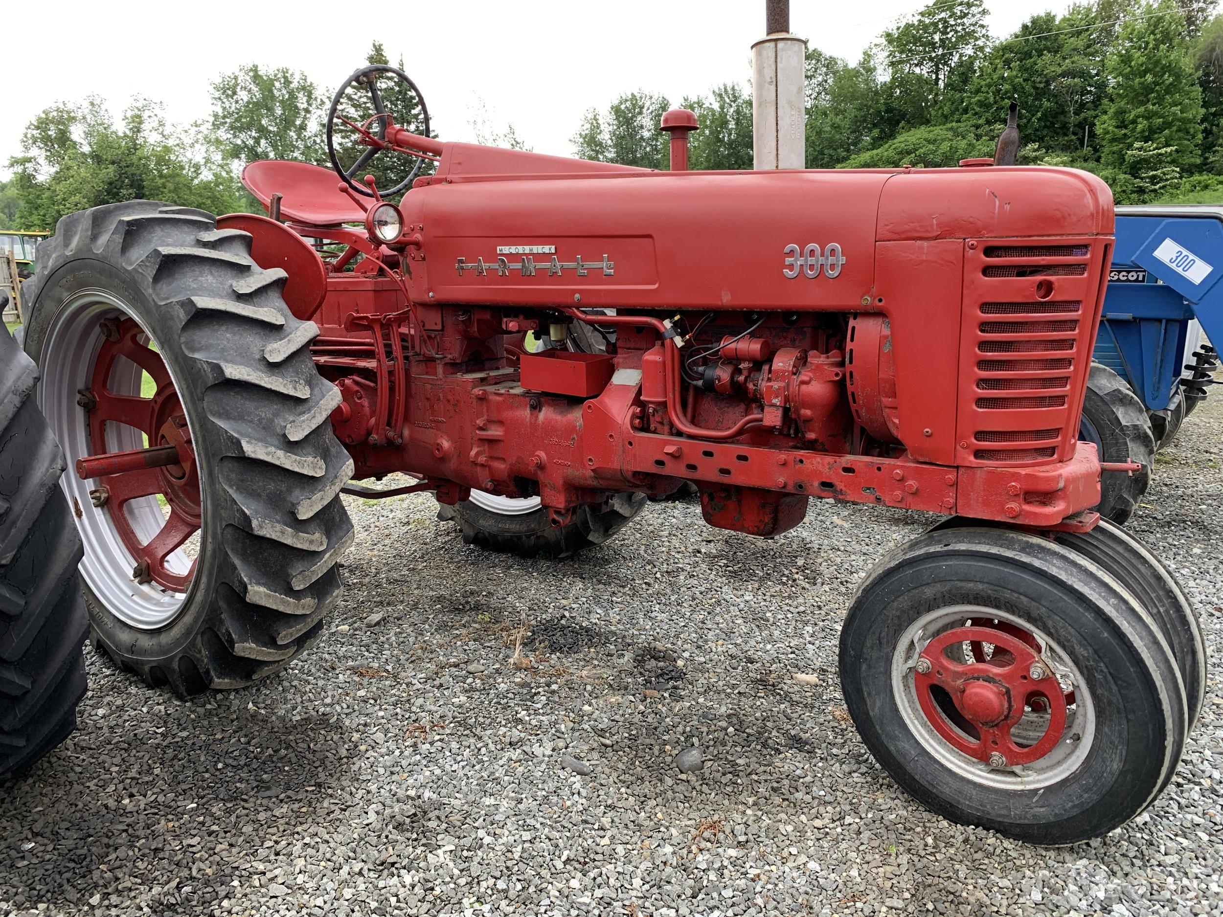 Farmall 300 Tractor  $4,000