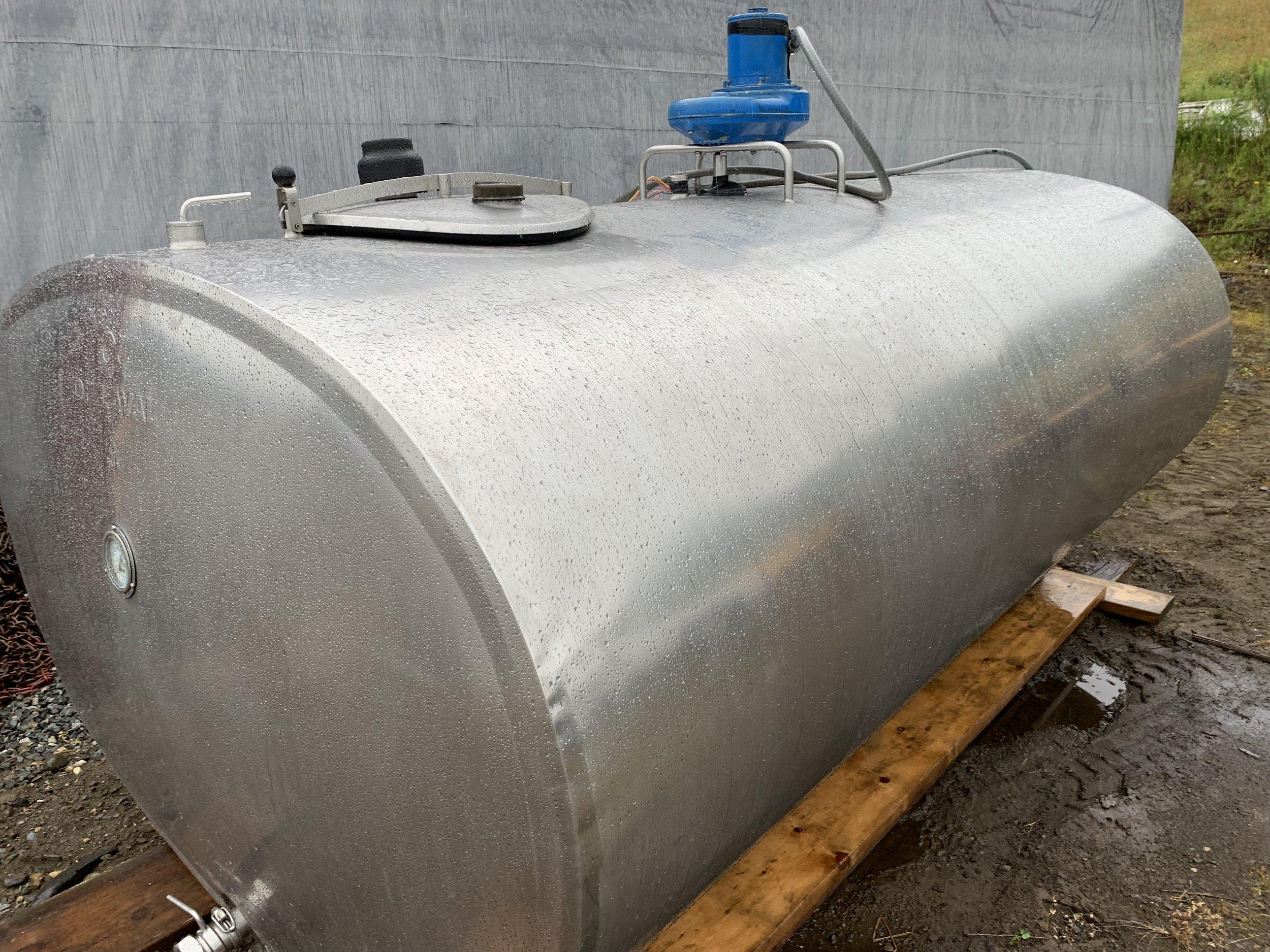 Delaval 1000 Gal Bulk Tank $6,500