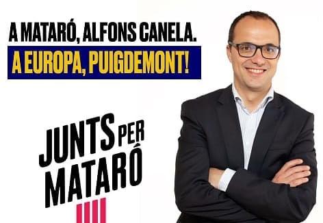 Aquest diumenge dues paperetes i un projecte: Junts per Catalunya #AlfonsCanela2019  #MataróAlCentreDeTot  #PersistimiGuanyarem