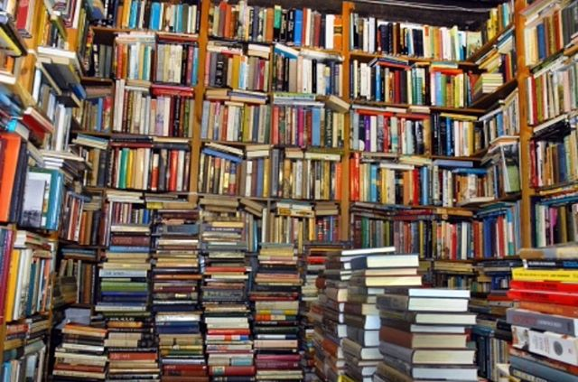 Not our books but this *almost* looks like enough books. J/k, there's NEVER enough books! What are you reading these days? Leave us your best suggestions in the comments!  #bookworm #booknerd #neverenoughbooks