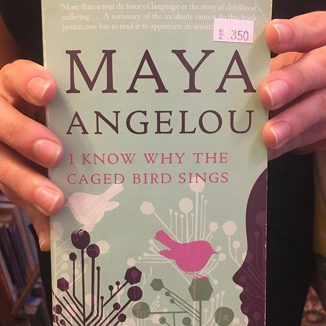 "New Maya Angelou ""I Know Why the Caged Bird Sings"" in, plus a few of her other titles!  Maya Angelou (born Marguerite Annie Johnson in April 1928), was an acclaimed American poet, singer, memoirist, and civil rights activist. She published seven autobiographies, three books of essays, a number of poetry volumes, and is credited in a multitude of plays, movies and television shows spanning more than five decades. She received dozens of awards and more than 50 honorary degrees throughout her esteemed career. Angelou earned incredible and hard-won respect as a pioneer, being an African-American woman who gained such notable, well-respected and well-received success. She passed on May 28, 2014, however her legacy lives on in the form of a number of scholarships, libraries, and awards.  #themoreyouknow #thanksdrangelou #neverenoughknowledge #neverenoughbooks"