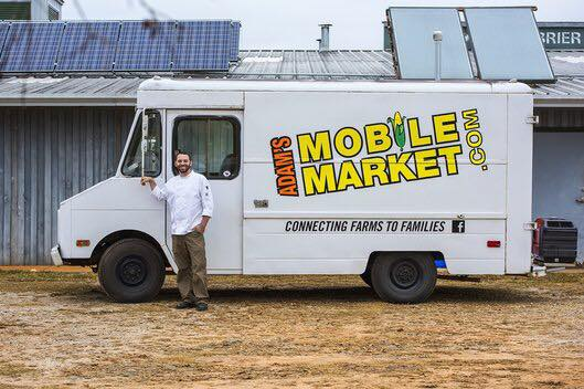 Adam's Mobile Market - 8 AM - 12 PM