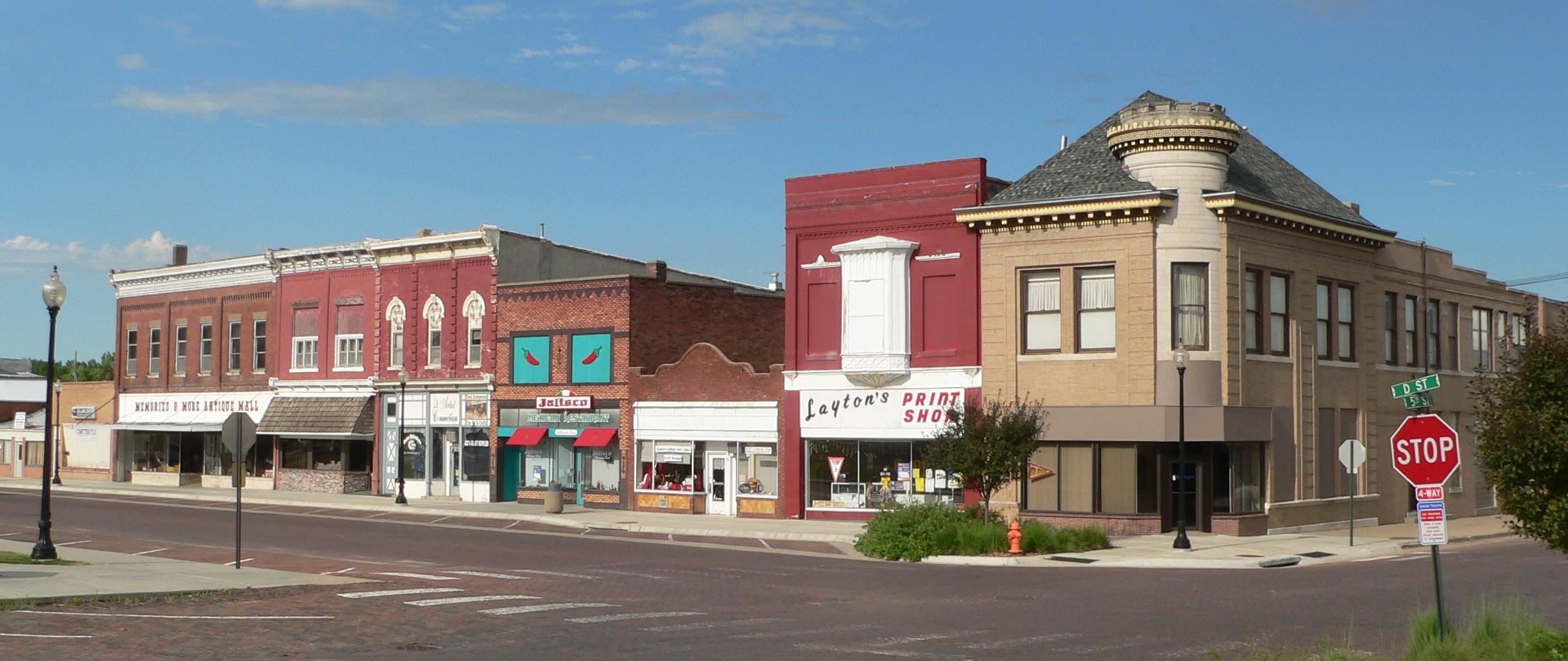 Downtown Fairbury, NE