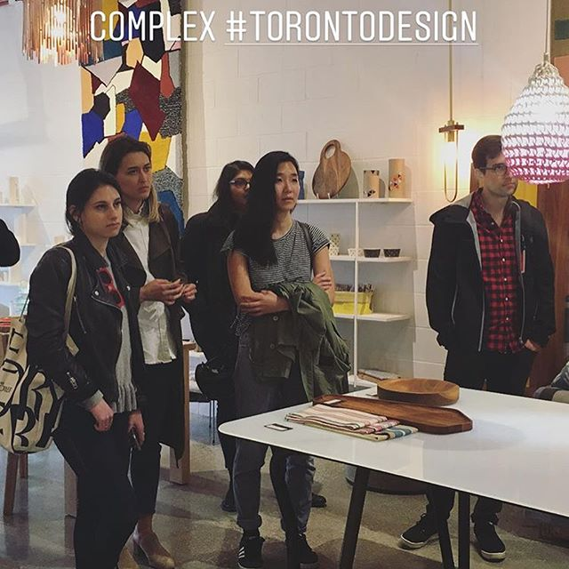 Thanks for the Geary Ave. Studio visits @kpmb_architects (and these pics!). Fun to have you in our amazing little corner of Toronto. @watsonsoule @the.newfield @colensonambient #emblemflowerstoronto #creativethinking #gearyave #geary #torontoarchitecture #torontodesign #flowers #torontoart #rugs