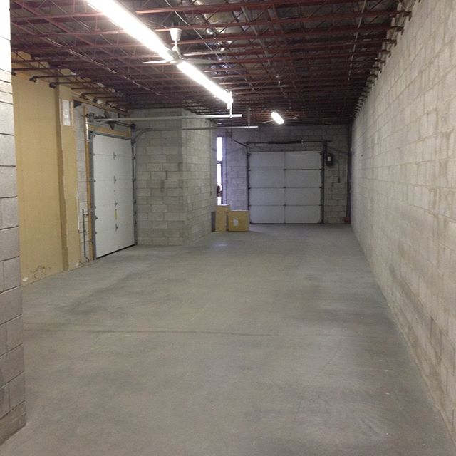 Future Made! We'll be moving in a few months. Exciting things to come. #newdigs #gearyave #worktodo #needawindow #warehouseconversion