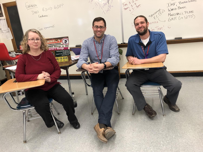 2018 Team Teaching Award Recipients