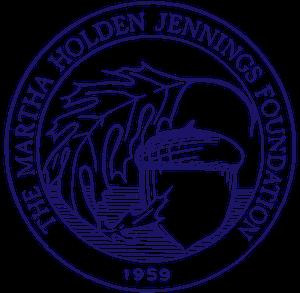 The Martha Holden Jennings logo vintage style