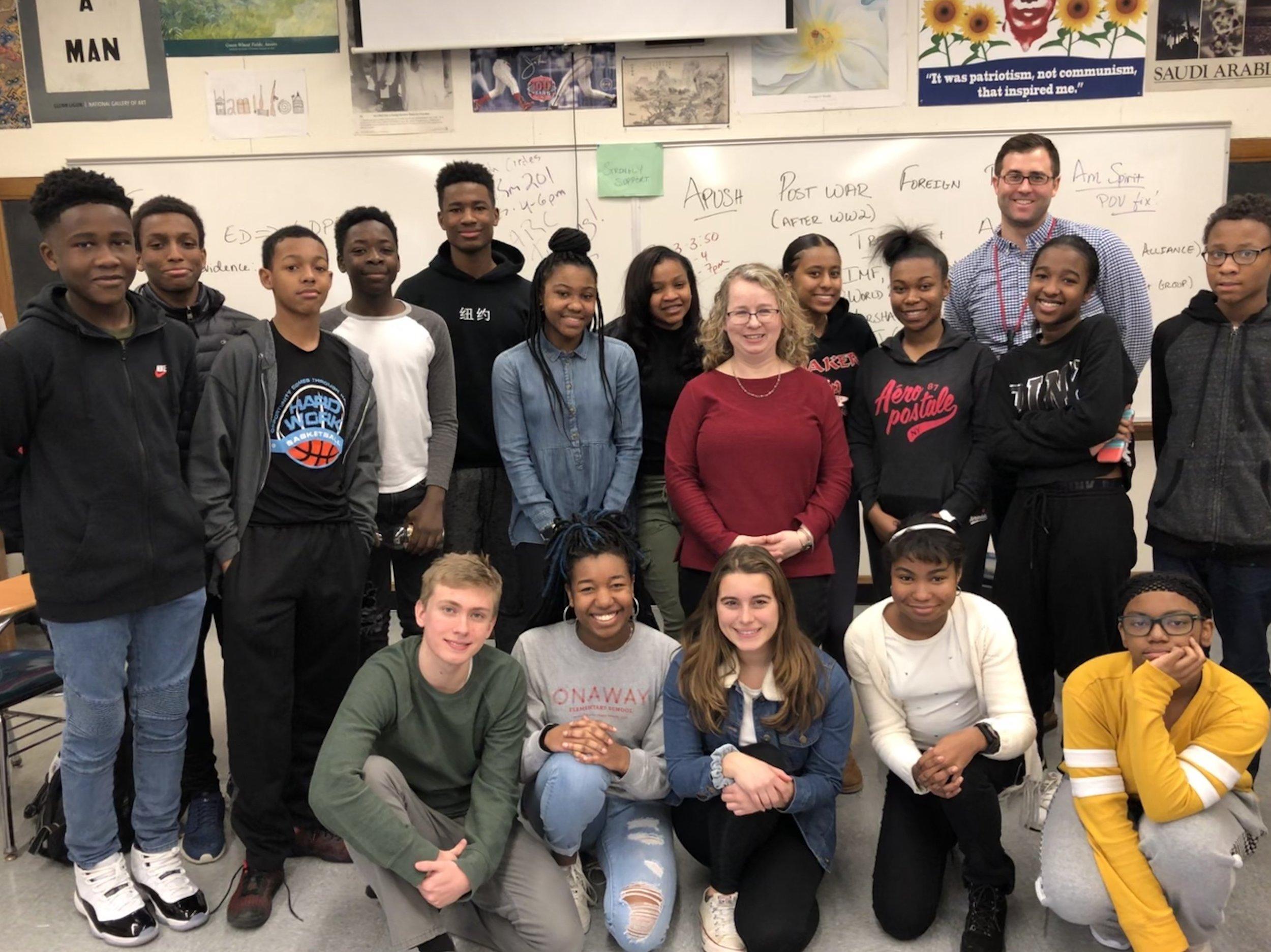 2018 Team Teaching teachers with students.jpg