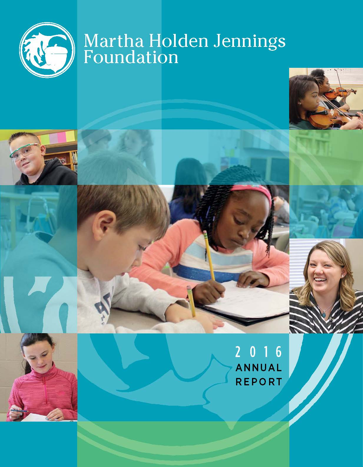 The 2016 MHJF Annual Report