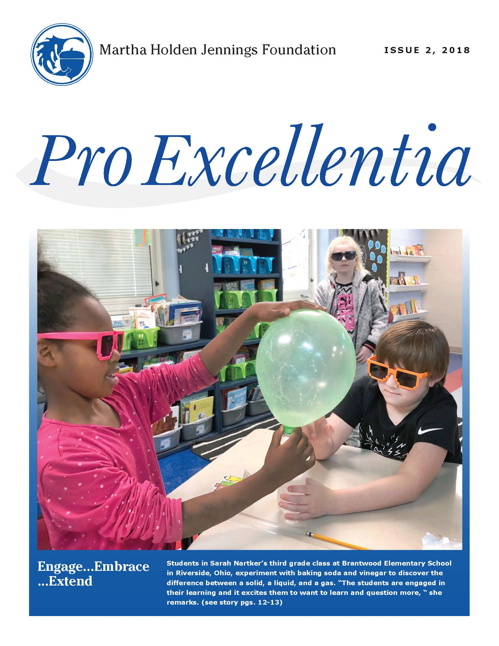The Spring 2018 issue of our ProExcellentia Journal