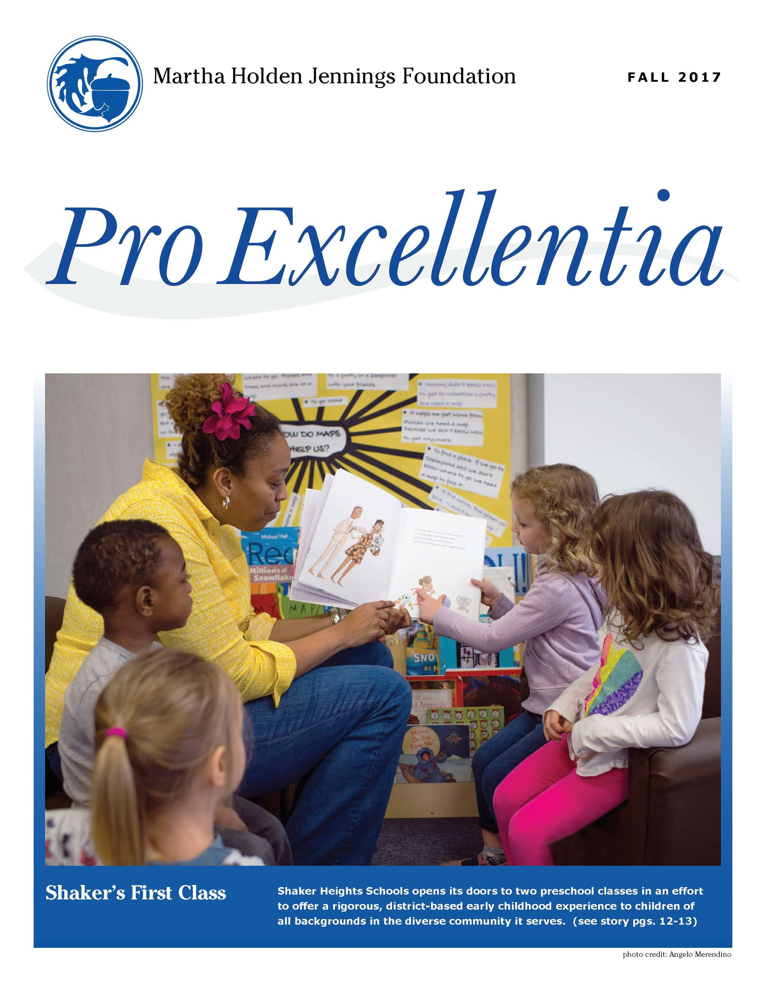 The Fall 2017 issue of our ProExcellentia Journal