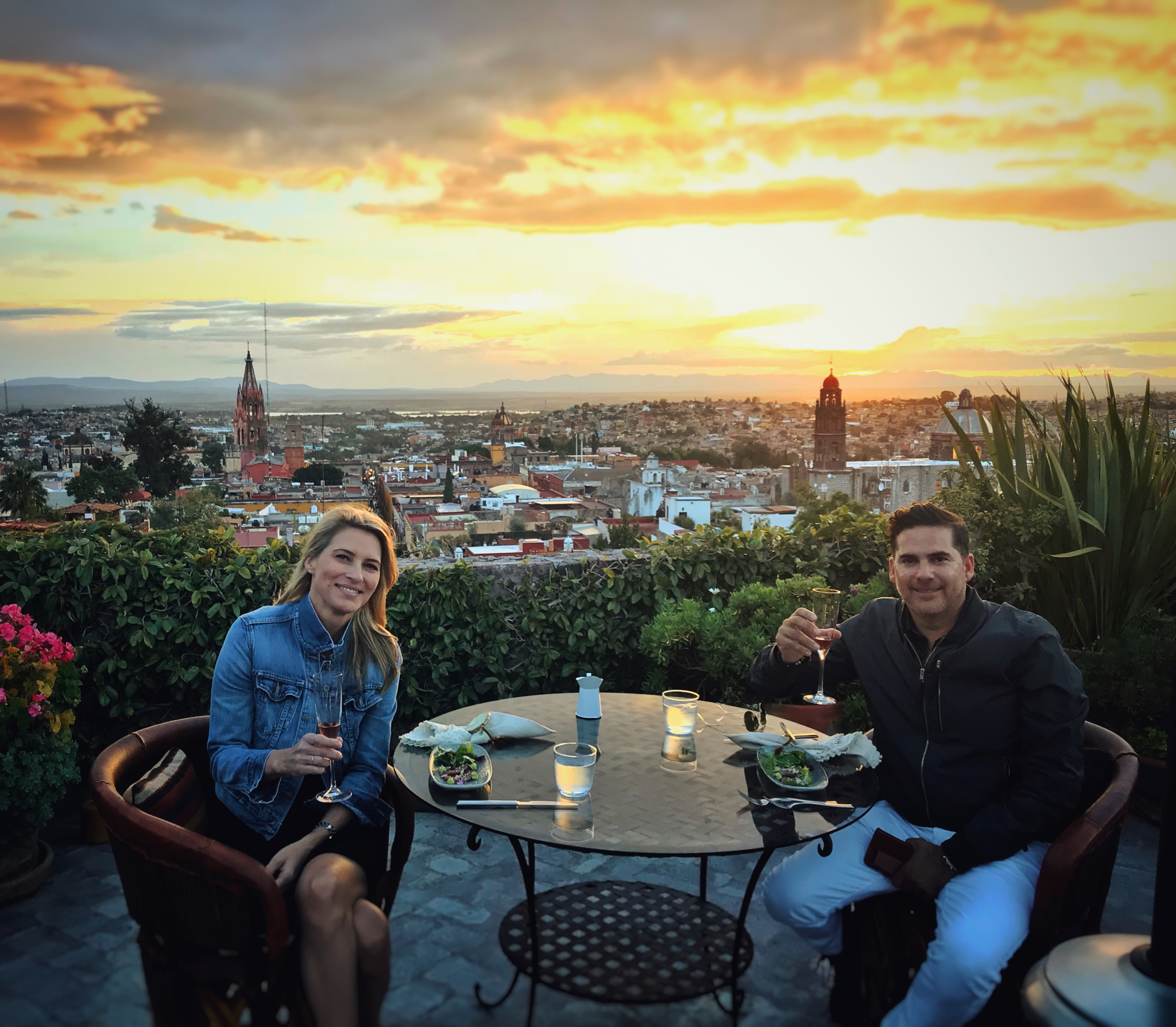 Engagement Dinner in San Miguel de Allende, Mexico 2018