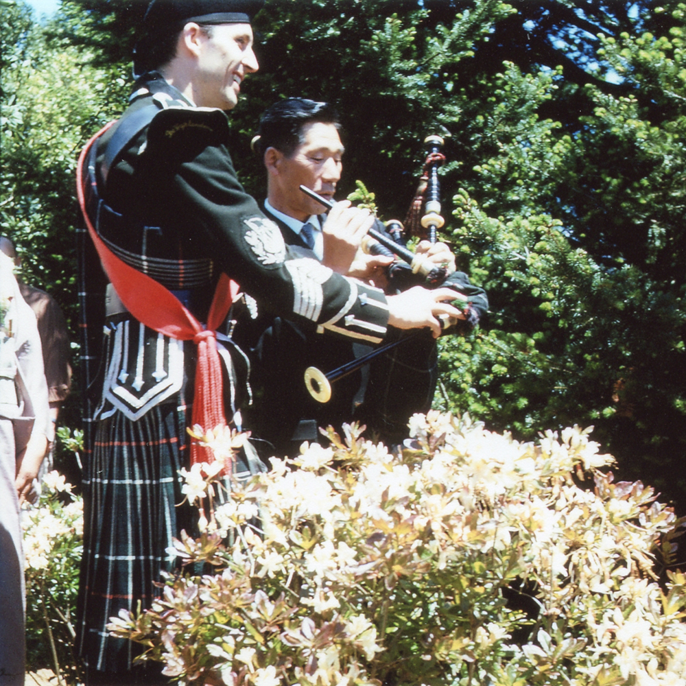 Copy of Fujita with Hector Smith at the Azalea Festival