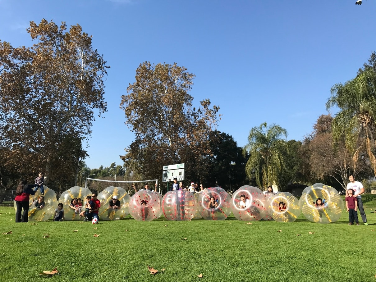 Bubble Soccer in Lake Forest