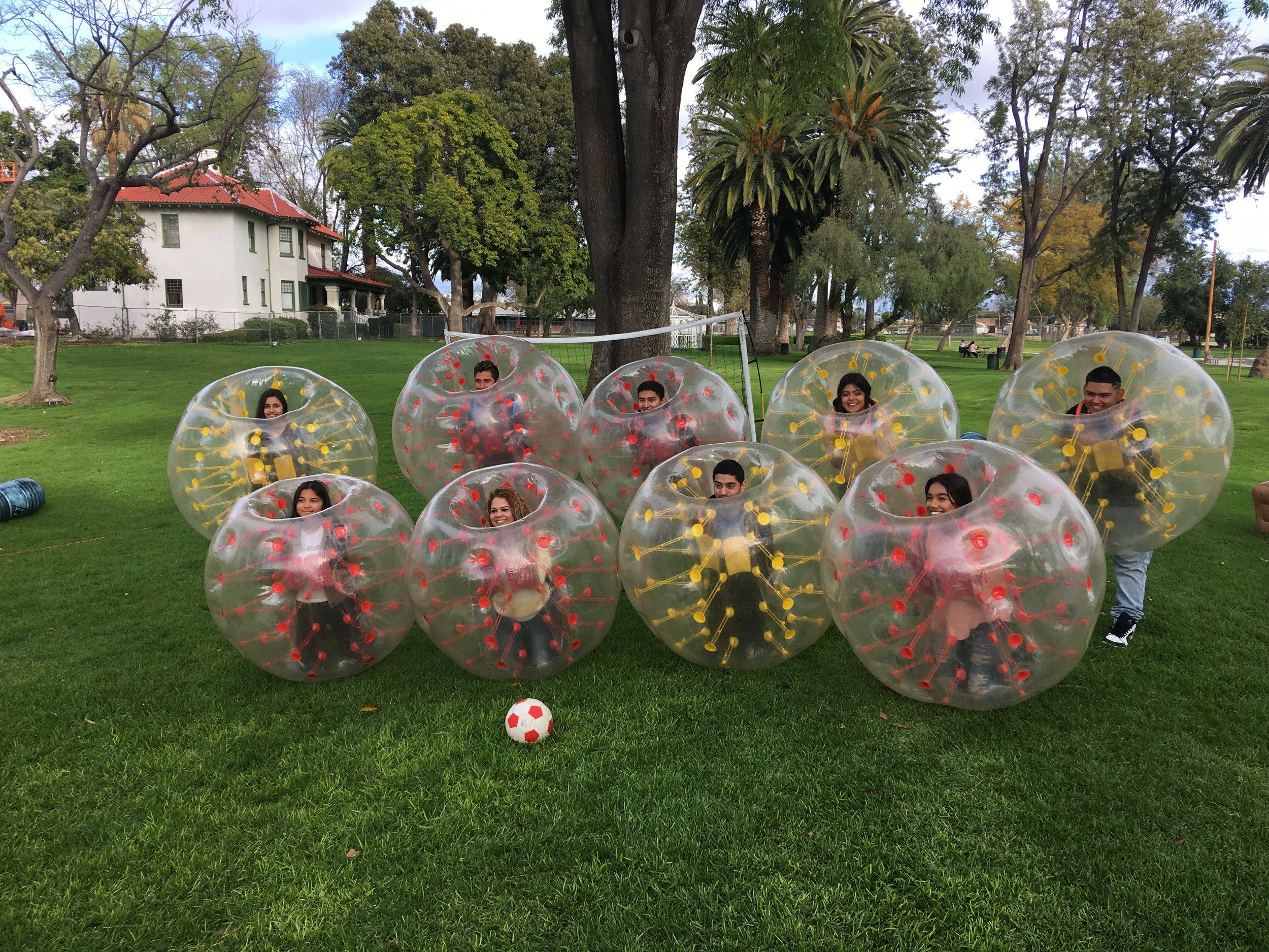Bubble Soccer in Newport Beach