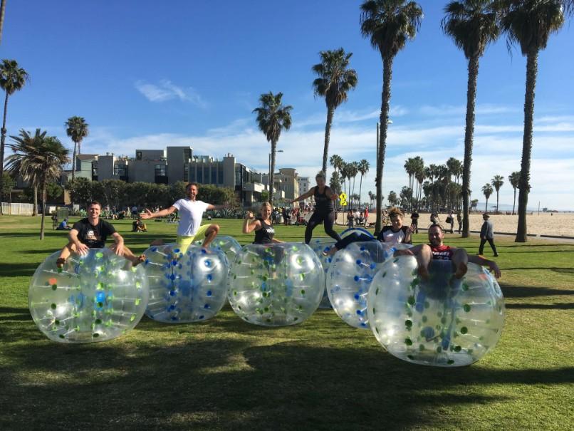 Bubble Soccer in Cypress
