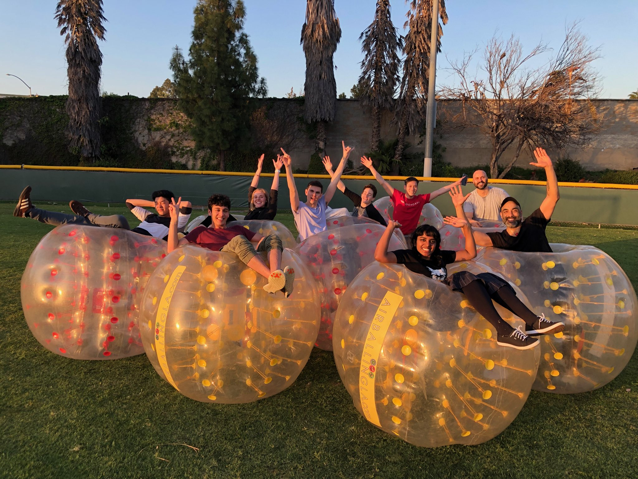 Bubble Soccer in Tustin