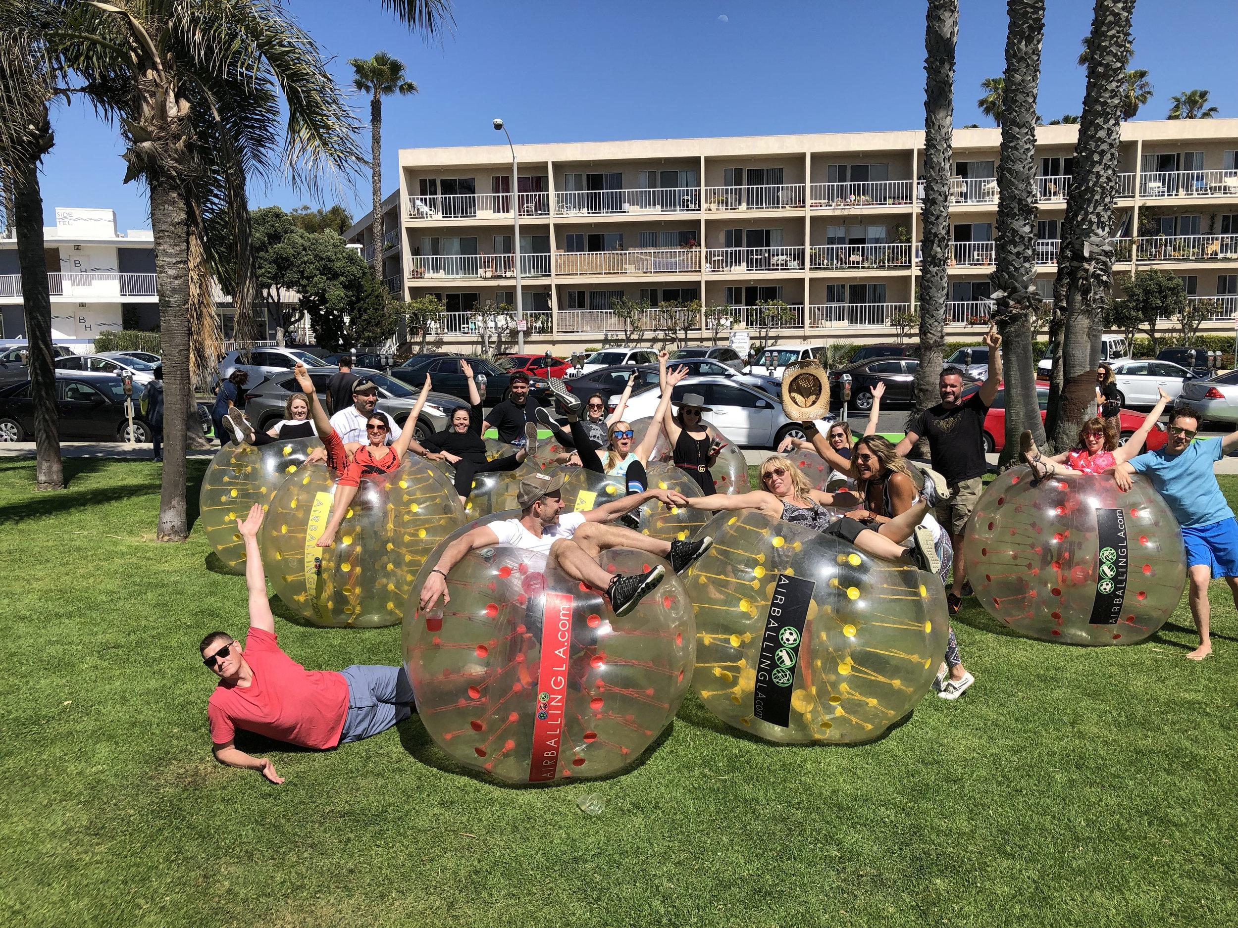 Bubble Soccer in Mission Viejo