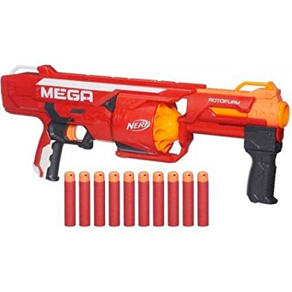Rotofury | Nerf Mega used in our Fortnite Birthday Parties